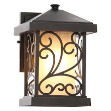 progress lighting cypress collection 1 light forged bronze outdoor wall lantern