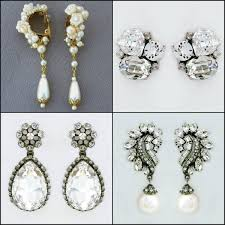 large studs pearl drops or bridal chandelier earrings perfect details offers a variety of clip0n