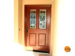 installed in san juan classic style forty two inch plastpro fiberglass entry door model drg41 with stupendous front door glass insert