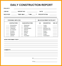 Daily Work Log Book Template Download Blank Observation