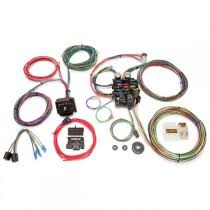 wiring electrical replacement parts painless performance 22 circuit customizable wiring harness complete kit