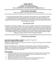 Electrical Engineer Cover Letter Example Resume Template Microsoft
