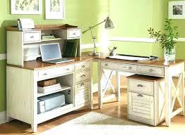 monarch hollow core corner desk white innovative specialties i 7176 cappuccino