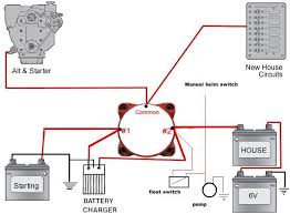wiring help for single engine dual battery setup Boat Dual Battery Wiring Diagram click image for larger version name mbss single engine w float switch jpg boat dual battery switch wiring diagram