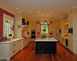 Black Marble Countertop High Glass Door Kitchen Cabinets French