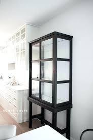 ikea glasses cabinet upgrade to elegant tall glass cabinet ersnet upgrade elegant tall glass home interior design pictures hyderabad