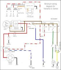 simplified wiring harness yamaha xj motorcycle forum dwcopple s wiring diagram