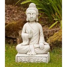 granite thai buddha statue