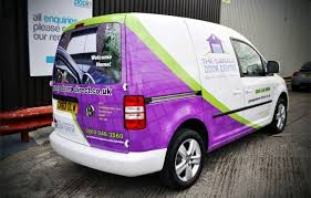 operating from cardiff popin vehicle graphics
