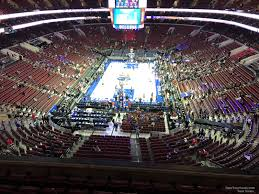 Wells Fargo Center Section 219a Philadelphia 76ers