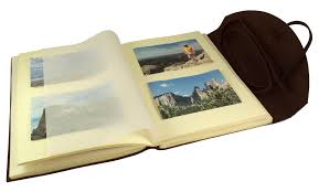 Photot Albums Rustic Leather Photo Albums Leather Scrapbook Albums