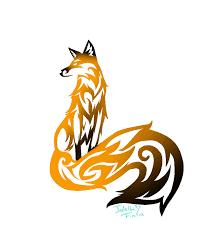 tribal fox drawing. Delighful Fox Tribal Fox Tattoo By Jadethefirefox  Throughout Drawing E