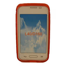 Case Protector TPU LG L40 D160 red a ...