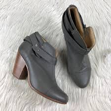 Rag And Bone Boot Size Chart Rag Bone Gray Harrow Ankle Boots Booties
