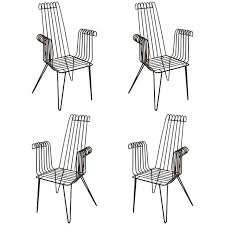 wrought iron indoor furniture. 4 iron chairs for indoor and outdoor wrought furniture