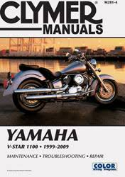 yamaha motorcycle manuals diy repair manuals clymer yamaha v star 1100 series motorcycle 1999 2009 service repair manual
