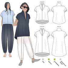 Designer Sewing Patterns Impressive Teddy Designer Top Style Arc