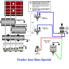 jazz bass special wiring diagram guitars amps gear jazz bass special wiring diagram