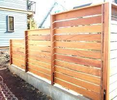 horizontal fence styles. Horizontal Fence Ideas Wood Design Gate Plans Styles De N