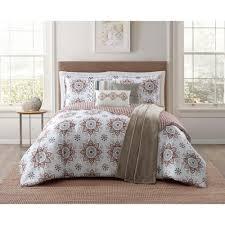 jennifer adams maywood 7 piece brown king comforter set cs2136kg7 1300 the home depot