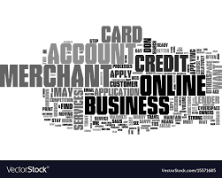 Applying For Business Credit Apply For A Business Credit Card Text Word Cloud Vector Image