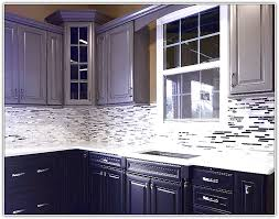 black kitchen cabinets with white marble countertops. Black Kitchen Cabinets With White Tile Countertops Photo - 1 Marble F
