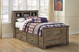 Trinell Full Bookcase Bed With Storage