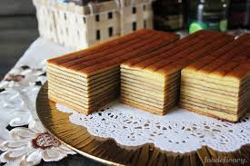 Durian Indonesian Layer Cake Foodelicacy