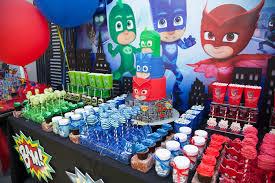 Pj Mask Party Decorations Kara's Party Ideas PJ Masks Superhero Birthday Party Kara's 10
