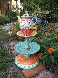 garden crafts. Amazing Of Alice In Wonderland Garden Decor Whimsical Craft Ideas Photograph Decorrem Crafts H