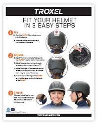 Equestrian Helmet Size Chart Helmet Size Guide Troxel Helmets