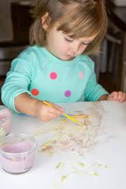 edible finger paint for toddlers