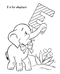 Baby Elephant Coloring Pages Baby Elephant Coloring Page Baby