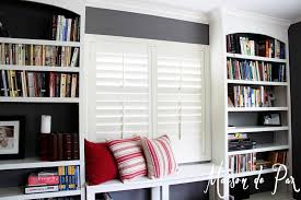 office bookshelves designs. DIY Built-in Bookshelves Office Designs