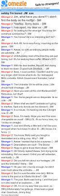 sebby I m bored JM xxx Omegle chat log