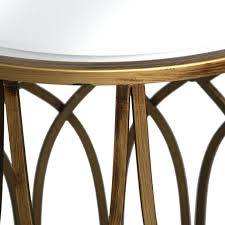side table set of 2 hill interiors gold detail mirrored side table set of 2 graceful side table set