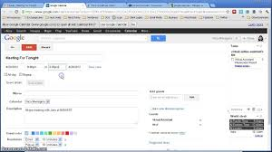 how to create a google calendar event from gmail