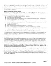 writing the personal statement ot college school  writing the personal statement