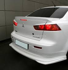 <b>Спойлер на багажник</b> Global Mitsubishi <b>Lancer</b> X.