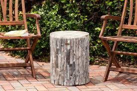 elyse round garden stool