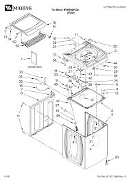maytag bravos quiet series 300 dryer parts diagram new maytag residential washer parts model mvwb400vq0 t69