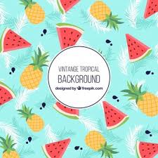 Fruit Pattern Mesmerizing Fruit Pattern Vectors Photos And PSD Files Free Download