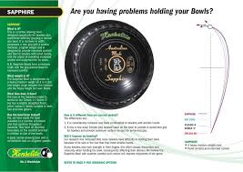 Weight Of Lawn Bowls Chart No 1 World Wide Catalogue Pdf Free Download