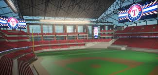 Rangers New Ballpark Design Texas Rangers Globe Life Field To Feature State Of The Art