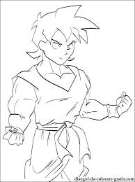 Goten Dragon Ball Da Colorare Disegni Da Colorare Gratis