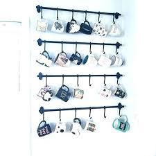 mug rack wall wall mug rack wall cup racks hanging cup rack coffee mug rack hanging