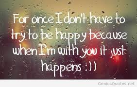 Happy Love Quotes Fascinating Happy Love Quotes With Wallpaper And Images