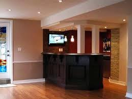 Cool Basement Bar Ideas Kitchen Room Wonderful Simple Basement Bar