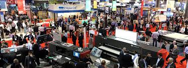 every year multiple times a year there are multiple t shirt trade shows going on you can find things such as equipment and s