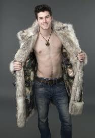 mens faux fur regal faux fur coat mens faux fur hood parka jacket